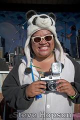 Vanda the Panda with Diana Panda (Steve Hopson) Tags: costumes portrait people music usa halloween festival portraits costume nikon panda texas halloweencostume diana vanda dianaf utopia pandas halloweencostumes stevehopson d700 nikond700 hongmeow utopiafest halloween2011 dianapanda