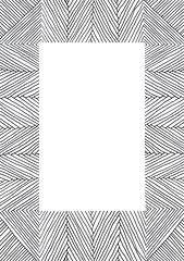 Zentangle #85 - Frame (hilda_r) Tags: art ink drawing tangle inkdrawing inkart doodleart zentangle zentangles