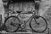 Lucca Bicycle (Dennis Cluth) Tags: italy bicycle mono nikon lucca tuscany d90