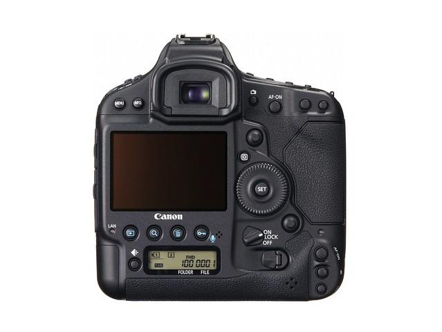 Canon EOS-1D X (Back)