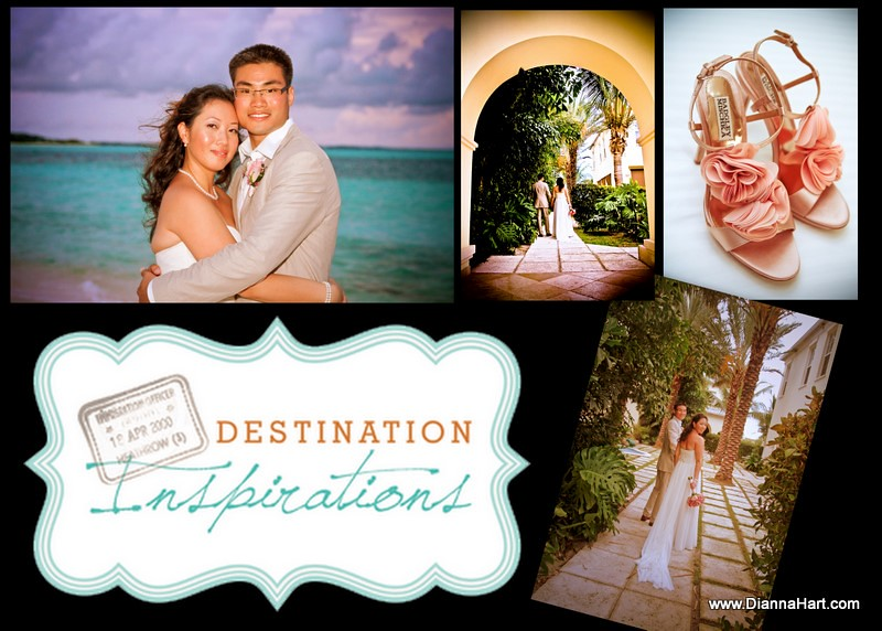 Destination wedding photographers Turks and Caicos