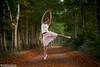 The Ballerina - 23/100 (Olivia L'Estrange-Bell) Tags: autumn jump autumnleaves jumps englishcountryside autumnsun thewoods canoneos5dmarkii oliviabell oliviabellphotography 100jumps tbsart