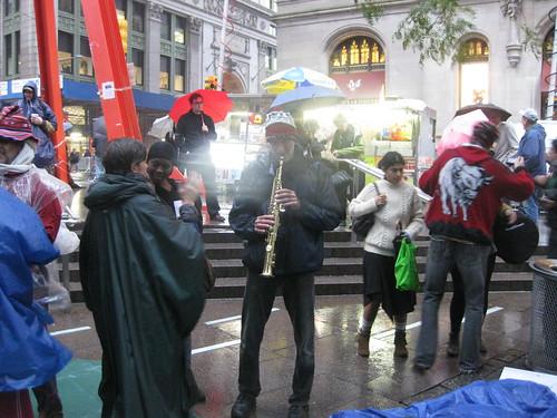 OWS Music: Music scene