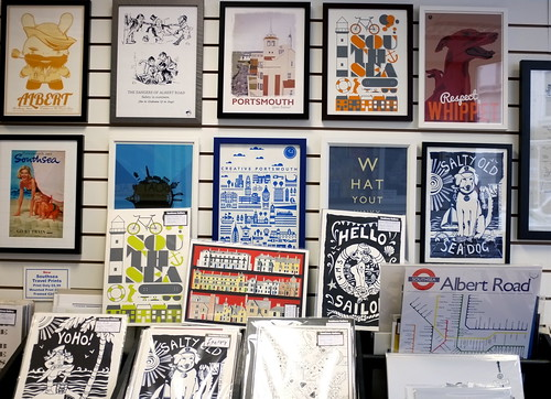 Southsea Gallery - supporting local artists and designers