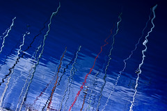 Masts reflection (Theophilos) Tags: sea reflection marina crete masts rethymno