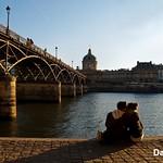 Paris, France - Love In The Air @Ponts des Arts