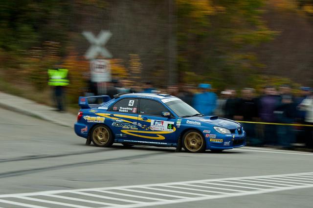 Steeve Hobbs - Rallye de Charlevoix 2011