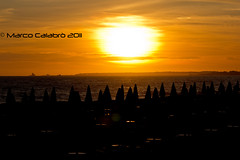 Sunset @ Foce Verde (Marco Calabro') Tags: sunset sea italy sun canon eos 1750 tamron 60d 55250