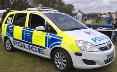 HERTS POLICE ZAFIRA DOG UNIT (NW54 LONDON) Tags: vauxhallzafira dogunit hertfordshirepolice