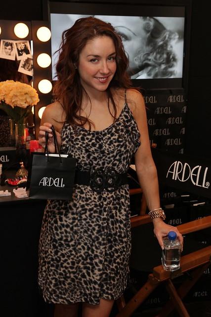 Erin Karpluk at Ardell