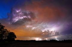 Firesky (@hipydeus) Tags: storm clouds munich thunderstorm lightning balconyview stupidpilot