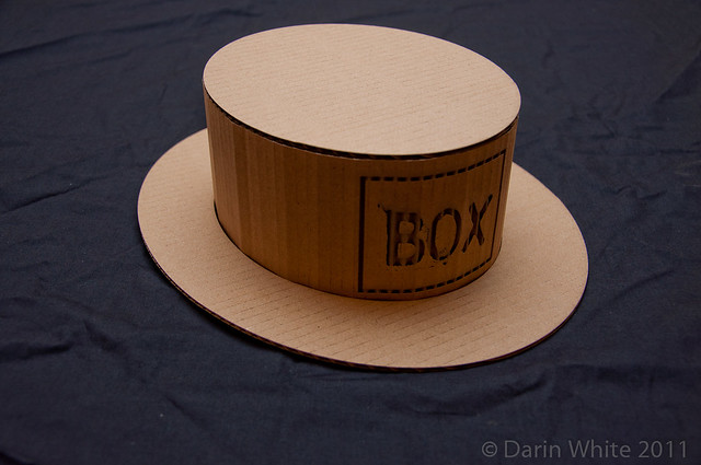 BOXware assembled hat