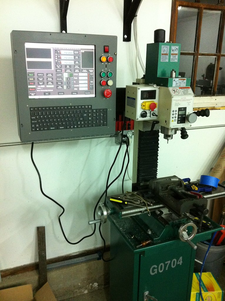 custom CNC controller box for G0704 milling machine