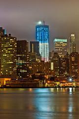 9/11 10th Anniversary Tribute in Light (Shane Woodall) Tags: longexposure newyork brooklyn lights worldtradecenter 911 september wtc tributeinlight brooklynbridgepark 2011 freedomtower canon5dmarkii septenber11th shanewoodallphotography