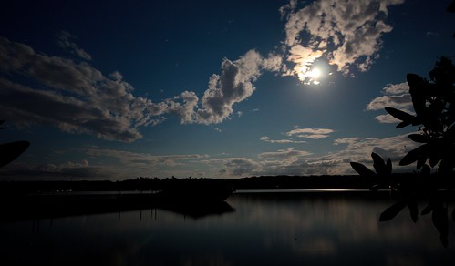 Lake Wallenpaupack by Moonlight by DC4416