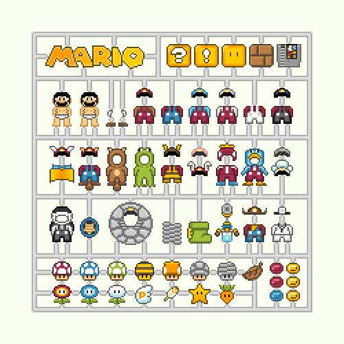 Nintendo Model Kits
