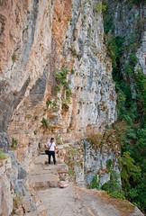 Zagori - Viko's Gorge (Kyriakos Michailidis) Tags: colour nature landscape nikon rocks colours village sigma canyon greece macedonia gorge colourful gorges d60 zagoria vikosgorge vikos sigma18200 zagorochoria   zagori nikond60 papigo vikoscanyon          monodendrivillage       papingovillage