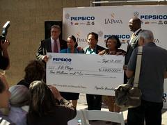 La Plaza, Pepsico Check Presentation