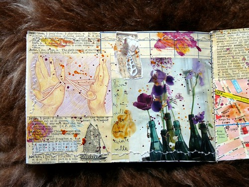 Collage Minibook Coup de Coeur 3