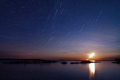 K7__8007 (Bob West) Tags: longexposure nightphotography moon ontario night clouds georgianbay moonrise moonlight nightshots brucepeninsula startrails k7 southwestontario bobwest pentax1224