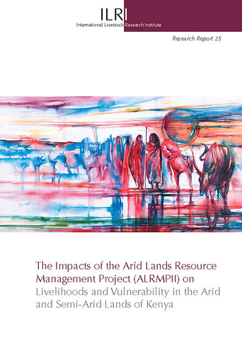 Cover of ILRI report on impacts of ALRMPII