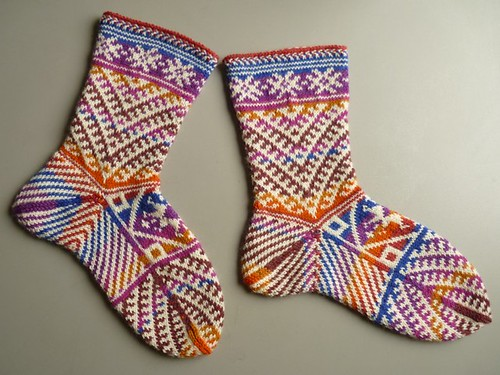 kilim socks FO