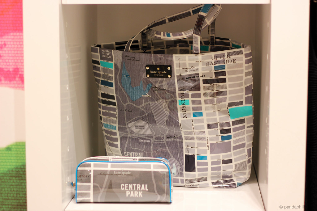nyc map tote