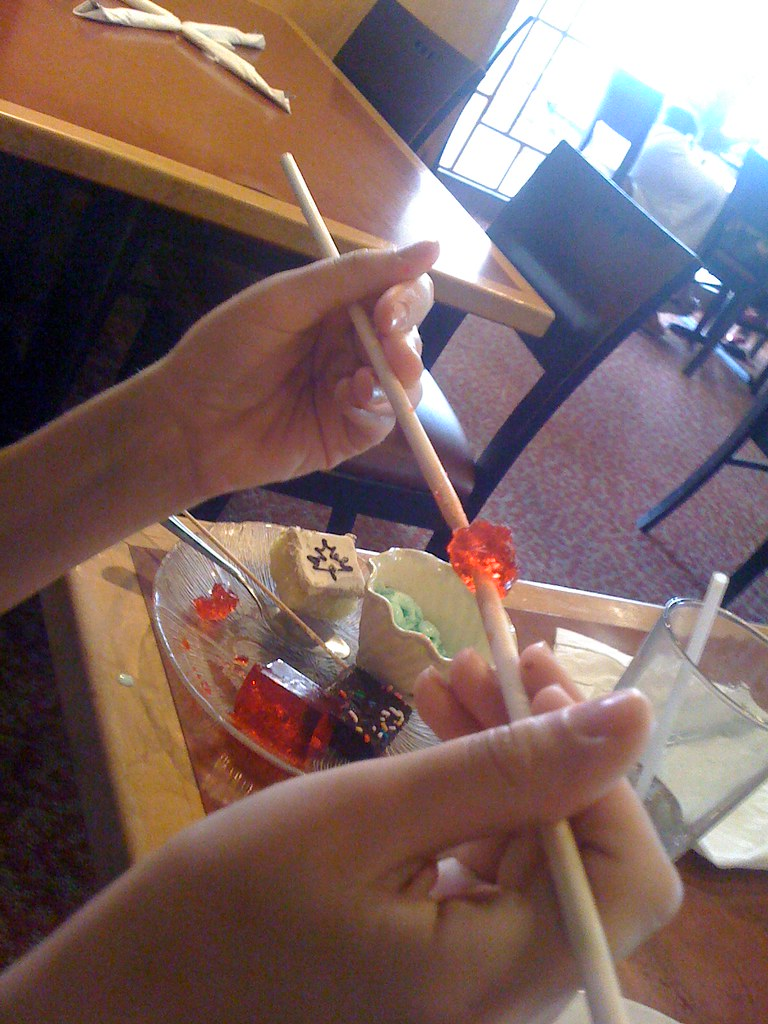 Crazy Buffet - Chopsticks and Jello