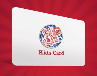 Boston Pizza Kids Card