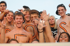 More Smiles in the Den (High Post Online) Tags: senior night football vs derry latrobe 2011 fbsr
