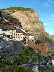 Gran Canaria - Artenara in the winter