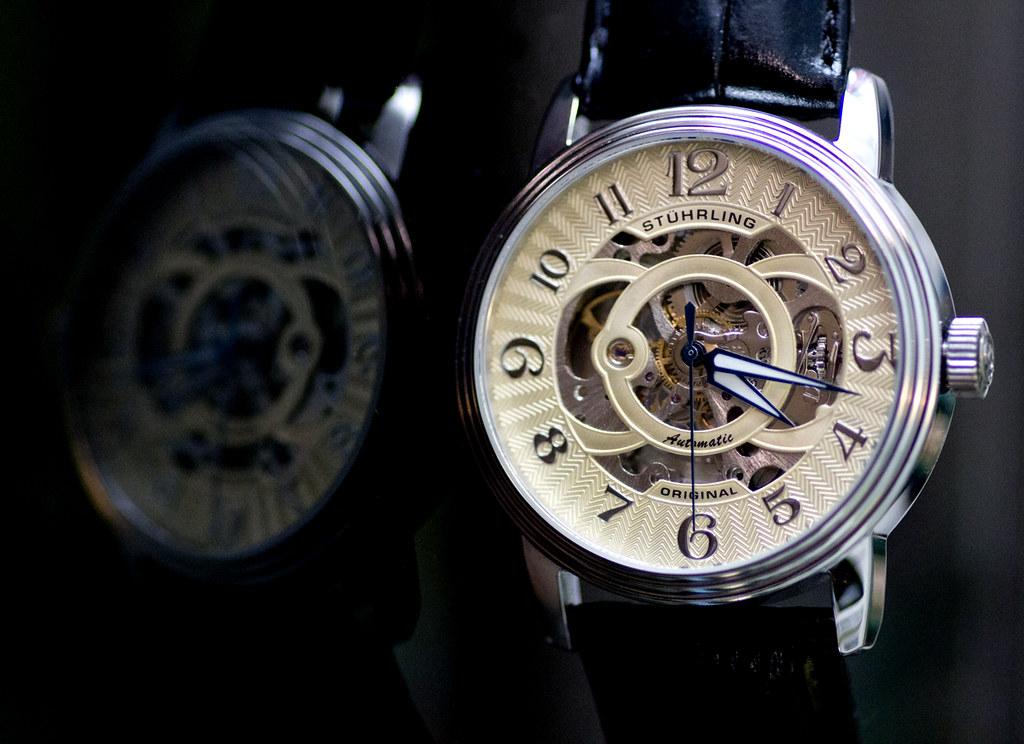 Sturhling Classic Delphi Omega Automatic Watch