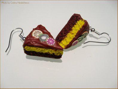 pendientes tarta - blog