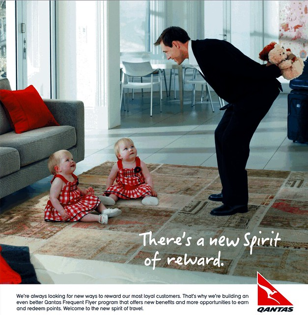 Qantas advert
