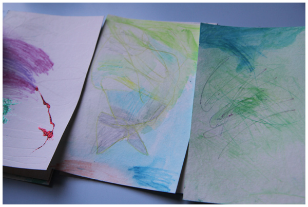 Handmade Watercolor Postcards