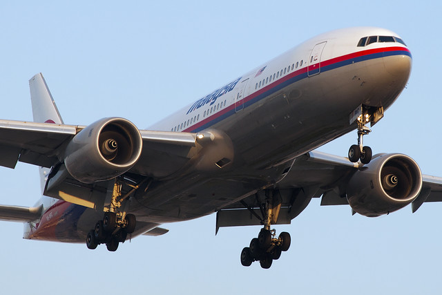 Malaysia Airlines Boeing 777-2H6/ER (9M-MRC)