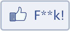 Facebook F**k! Button