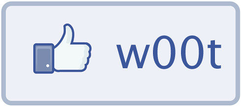 Facebook w00t Button