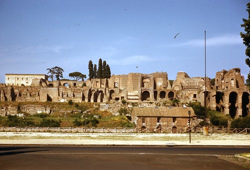 Palace Ruins Rome