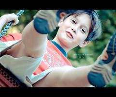 when little brothers (Tafelzwerk) Tags: portrait playground children fly kid nikon child porträt swing kind spielplatz spielen fliegen schaukel nikkor85mm nikkor85mmf18 d7000 nikond7000 tafelzwerk tafelzwerkde