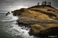 A Stormy Cape Kiwanda (* Ian Rogers *) Tags: longexposure sea storm oregon landscape coast long exposure waves stormy southern cape oregoncoast capekiwanda kiwanda southernoregoncoast