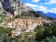 Moustiers-Sainte-Marie village, France--near the entrance to the World famous Gorge du Verdon--near where I visited my Uncle from Frejus, France and we traversed the length of the Gorge du Verdon and back (digital deadhead) Tags: ocean life sanfrancisco china park christmas old city flowers red summer vacation sky music food plants white newyork canada france mountains flower green london art history love festival japan night river square landscape photography high concert nikon montana rocks flickr peace time live gratefuldead imagine resolution kindness deadhead rive cocnert potor