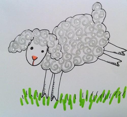 Silvery sheep