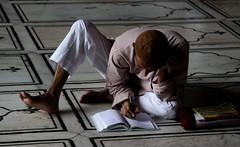 Mosque Study (hbp_pix) Tags: india muslim mosque dehli sikh rickshaw hbppix