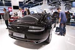Aston Martin Rapide - IAA 2011 (avantgarde_w2) Tags: auto car germany deutschland messe astonmartin frankfurtammain rapide wideanglelens autoausstellung carexhibition weitwinkelobjektiv tokina1116mmf28 iaa2011