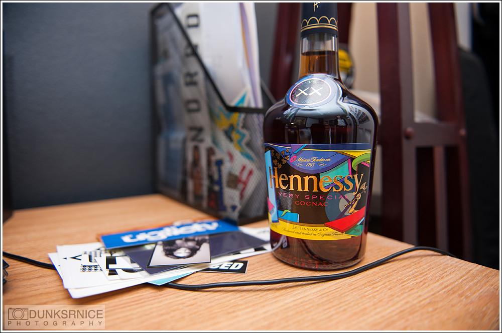 Hennessy x Kaws.