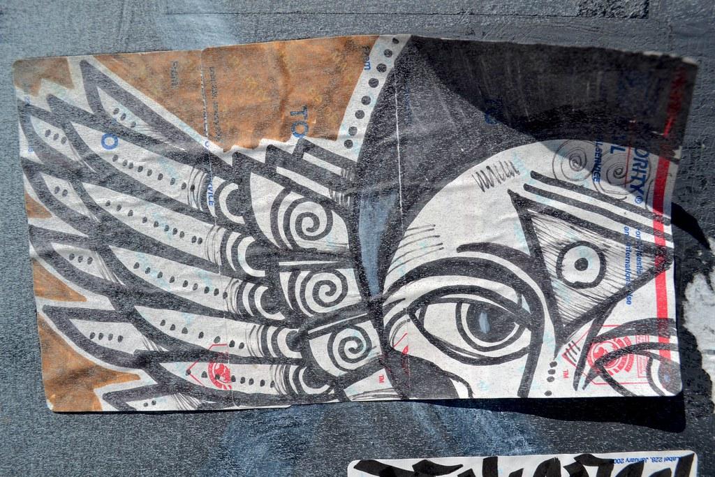 Ras Terms, sticker, PTV, BDS, Street Art, Graffiti