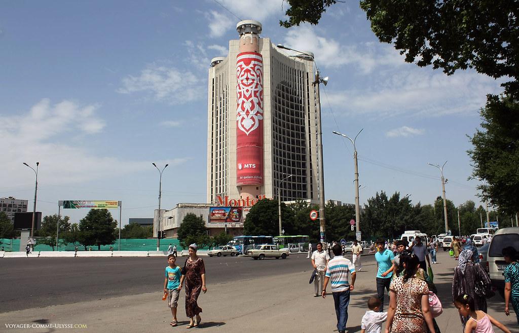 Hôtel moderne, non loin du Bazar de Chorsu