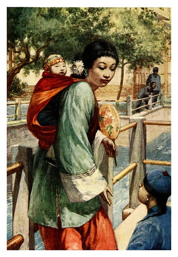 003-Chica con niño-China 1910- Norman H. Hardy