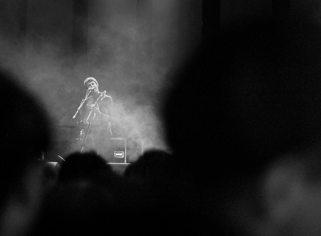 Miles Kane - Miles Kane's performance was incredible, definitely going to keep listening to him. The lighting when he was on the main stage was great, got some nicely lit shots. This was one of my favourites that I captured, converted to B&W in Lightroom.